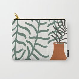 Vase With Foliage Still Life Carry-All Pouch