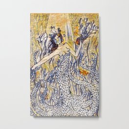 Coral Queen Metal Print
