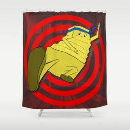 Crinkle Kicks Shower Curtain