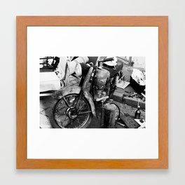 Ride. Framed Art Print