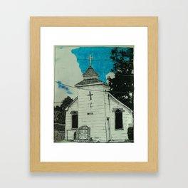 Zuma Missionary Baptist Framed Art Print