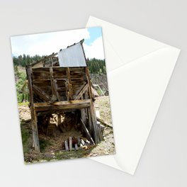 Exploring the Longfellow Mine of the Gold Rush - A Series, No. 9 of 9 Stationery Cards