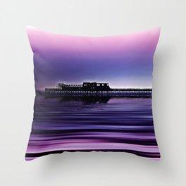 Destructive Beauty Throw Pillow