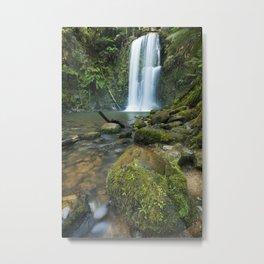I - Rainforest waterfalls, Beauchamp Falls, Great Otway NP, Victoria, Australia Metal Print