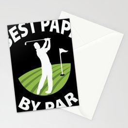 Best Papa by Par golf Stationery Cards