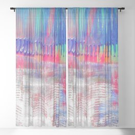 Color and white S42 Sheer Curtain