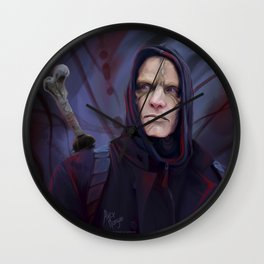 Mr. Quinlan | Bloody Invictus Wall Clock