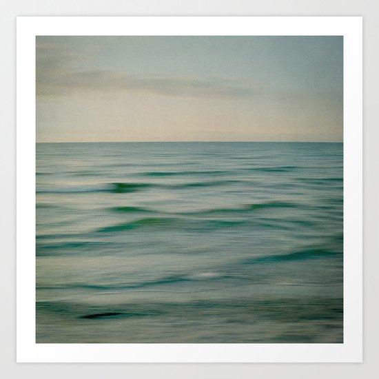 sea square V Art Print