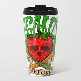 Veganism Metal Travel Mug
