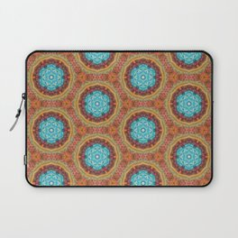 blue stitches Laptop Sleeve