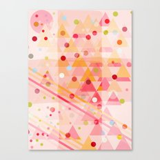 Candy Sorbet Canvas Print