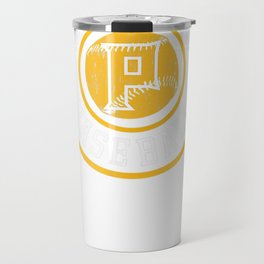 Pittsburgh Baseball | Burgh Pride Pirate Badge Gift T-Shirt Travel Mug