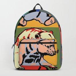 Pop art bear Backpack