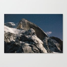 Half Dome Night Canvas Print