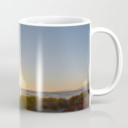 Spring Sunset On the Beach Coffee Mug