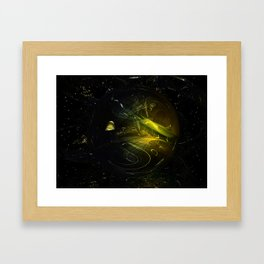 The Great Divide // Catharsis Framed Art Print