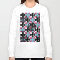 disco Long Sleeve T-shirts featuring Disco Pattern by Negin Khatoun