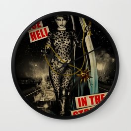 Let's Raise Hell Wall Clock