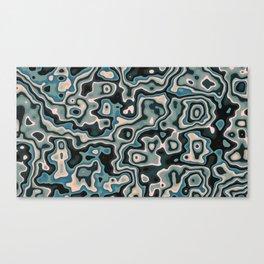 Liquid Neptune Canvas Print
