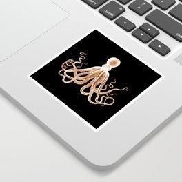 Octopus sea nautical beach coastal Sticker