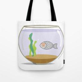 fish eye Tote Bag