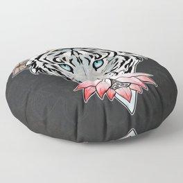 Tiger's lotus Floor Pillow