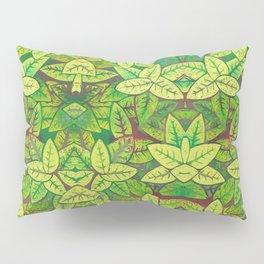 Spring leaves Pillow Sham