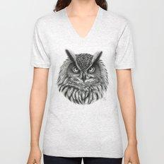 Owl G2012-046bis Unisex V-Neck