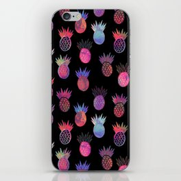 Tutti Frutti Black iPhone Skin