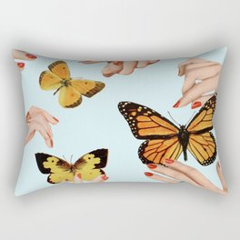 Social Butterflies Rectangular Pillow