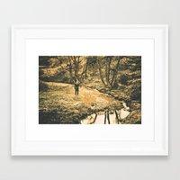 caleb troy Framed Art Prints featuring Caleb Slade 004 by Christopher Kuehl
