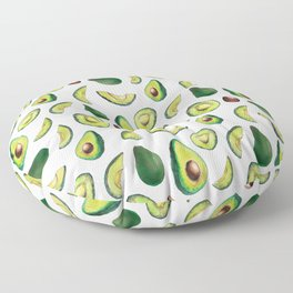 Avocado Pattern Floor Pillow