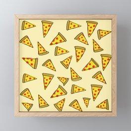 Pizza Party Framed Mini Art Print