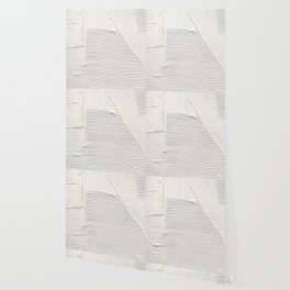 Relief [2]: an abstract, textured piece in white by Alyssa Hamilton Art Wallpaper