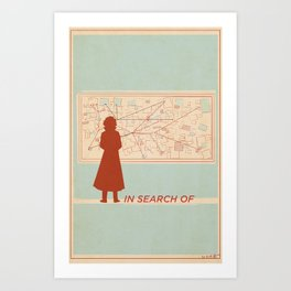 TBS Search Party: In Search Of Art Print