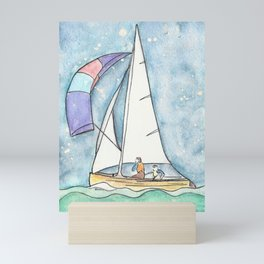 Mystic Sail Mini Art Print