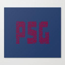 Paris Saint-Germain 2017-2018 Canvas Print