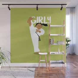 Positively Girly - Karate Wall Mural