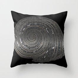 Metal Nautilida #1 Throw Pillow