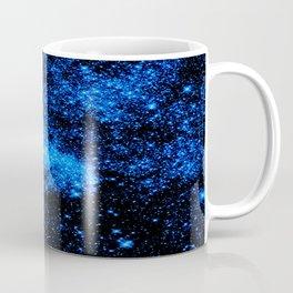 gALAXy Midnight Blue Stars Coffee Mug