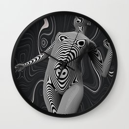 Hypnotized Wall Clock