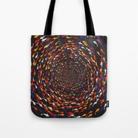 abyss Tote Bags featuring Abyss by Daisho