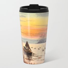 A Great Day For Hunting Ducks Travel Mug