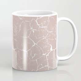 Abstract coral textures on soft paper Coffee Mug
