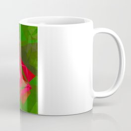 Pink Roses in Anzures 4 Abstract Polygons 1 Coffee Mug