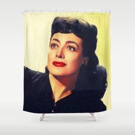 Joan Crawford, Hollywood Legend Shower Curtain