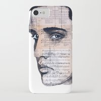 elvis iPhone & iPod Cases featuring Elvis by Krzyzanowski Art