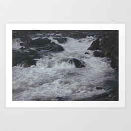 Great Falls Art Print