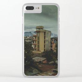 Kathmandu City Roof Top 001 Clear iPhone Case