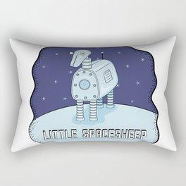 Little Spacesheep Rectangular Pillow